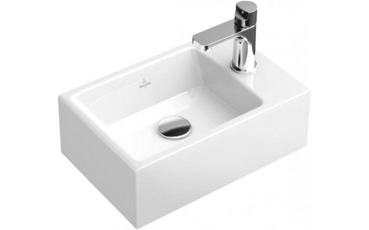 VILLEROY & BOCH MEMENTO umývátko 400x260mm bez přepadu Bílá Alpin 53334101