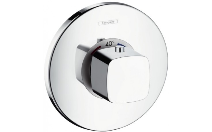 Baterie vanová Hansgrohe podomítková termostatická Ecostat E vrchní sada  chrom