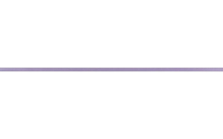RAKO CHARME listela reliéfní 60x1,5cm fialová WLASW004