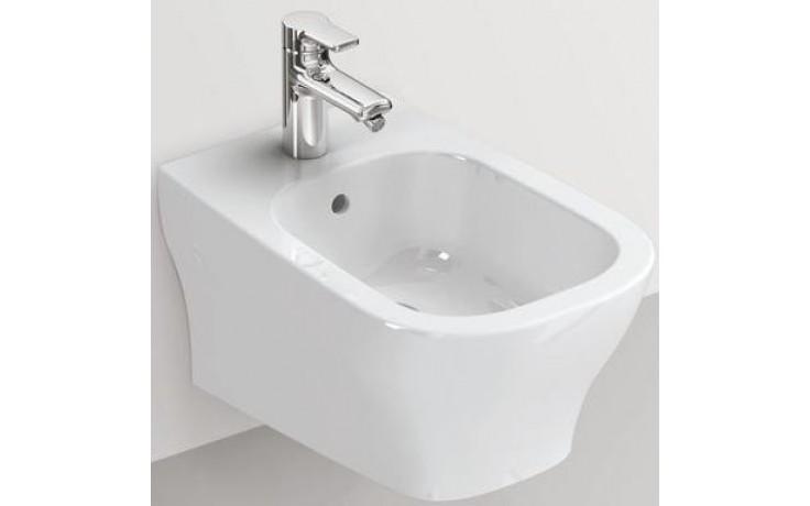 IDEAL STANDARD SOFTMOOD závěsný bidet 360x540mm s otvorem bílá T519301