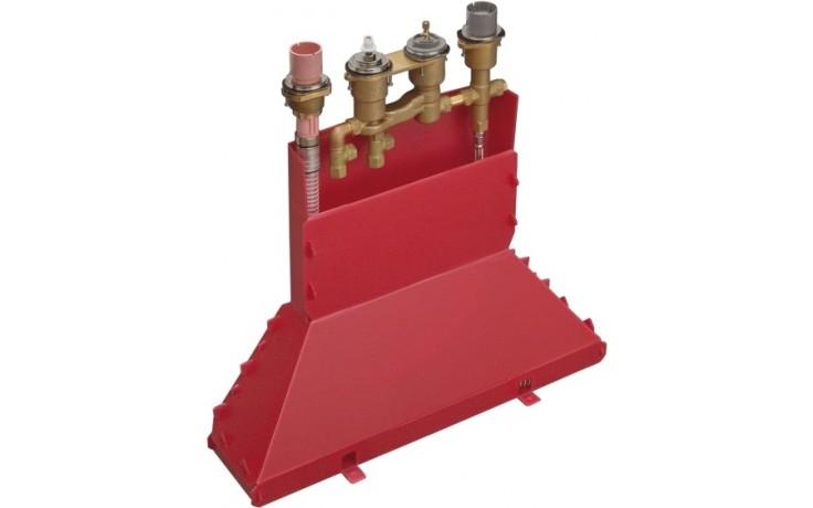 HANSGROHE základní těleso ke čtyřotvorové termostatické armatuře na okraj vany chrom 15460180