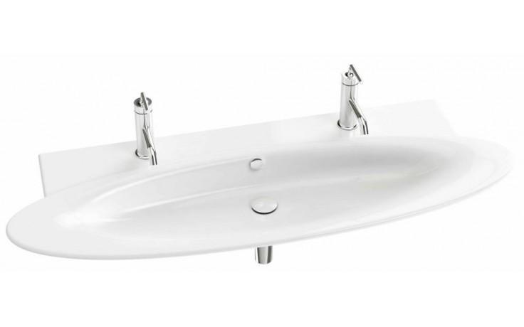 Umyvadlo klasické Kohler s otvorem Presquile 130x50 cm White