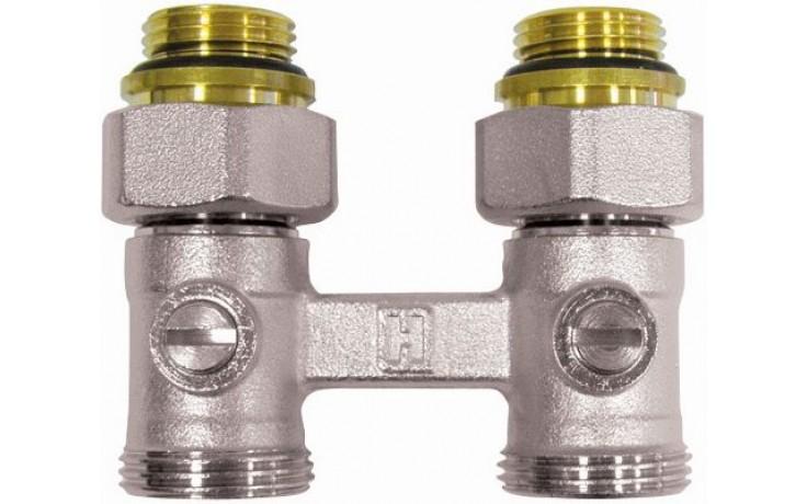 """CONCEPT H-kus uzavírací šroubení pro radiátory 1/2"""",3/4"""" přímý SHPT90-01"""