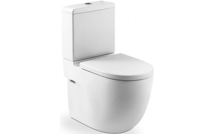 ROCA MERIDIAN WC mísa kapotovaná kombi compact 360x600mm hluboké splachování, vario odpad, bílá MaxiClean 734224800M