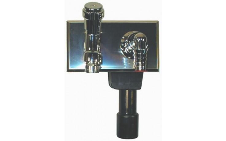 HL zápachová uzávěra DN40/50 podomítková vodní, pro pračku, myčku, PE/nerez/MS