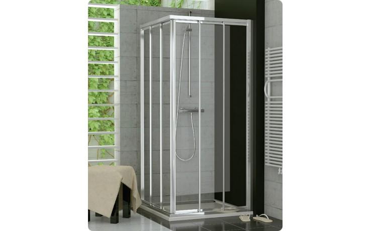 Zástěna sprchová dveře Ronal Top-Line TOE3 D 1200 50 07 1200x1900 mm aluchrom/čiré AQ