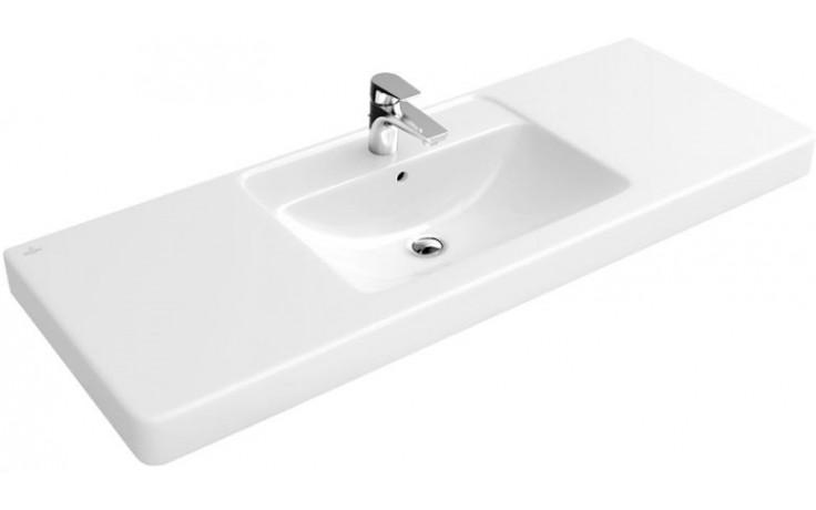 VILLEROY & BOCH OMNIA ARCHITECTURA umyvadlo 1300x485mm na skříňku, s přepadem Bílá Alpin 61181301