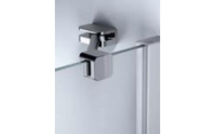 Zástěna sprchová boční Huppe sklo Design elegance příčná vzpěra 1200x2000 mm stříbrná matná/čiré AP