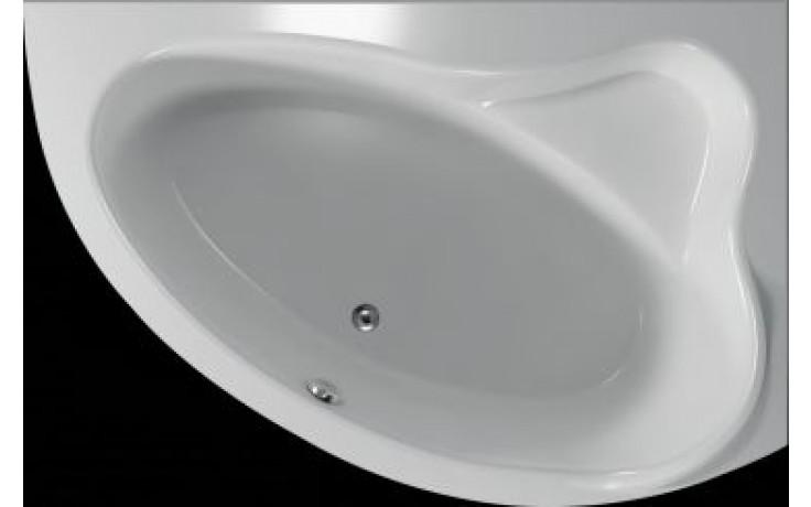 Vana plastová Teiko tvarovaná masážní Cejlon P ECO HYDRO 150x100x45cm bílá