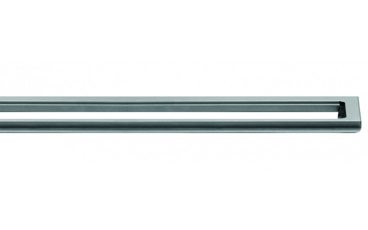 Příslušenství ke žlabům Unidrain - Rámeček ClassicLine 10mm (podélný systém) v.10/délka 1200mm nerez