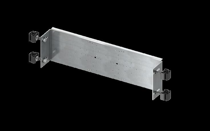 Předstěnové systémy stavební prvky TECE TECEprofil nosný prvek pro armatury