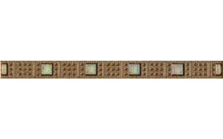 IMOLA L.TWEED T listela 3,5x40cm brown
