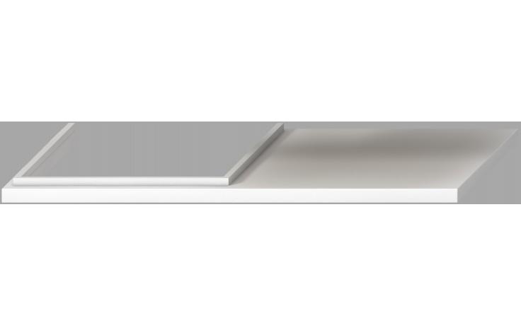 JIKA CUBITO-N atypická umyvadlová deska 650-1600mm bílá 4.6J42.3.011.500.1