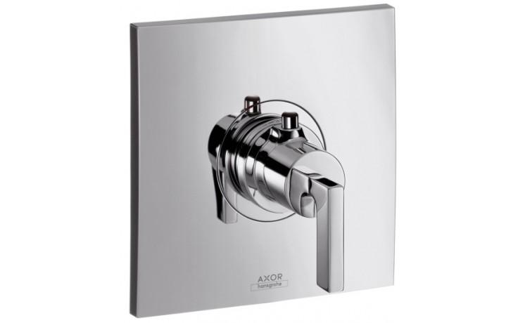 AXOR CITTERIO termostatická baterie Highflow pod omítku s ovládáním páčkou 59 l/min chrom 39711000