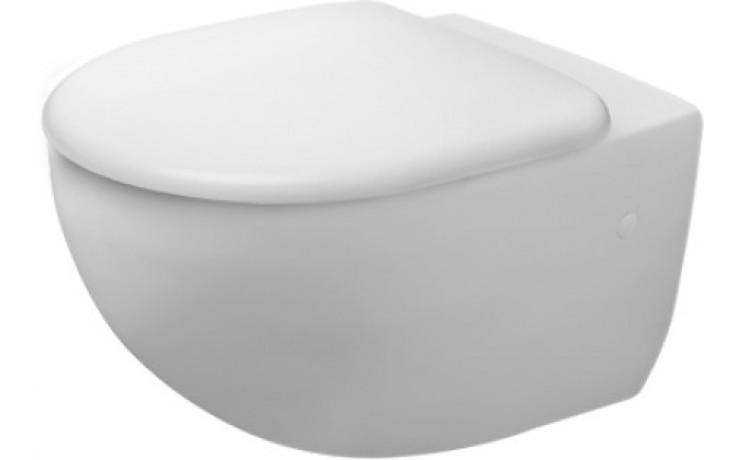 WC závěsné Duravit odpad vodorovný Architec  bílá