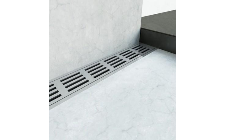 Žlab podlahový Unidrain - Odtokový žlab ClassicLine délka 700mm nerez