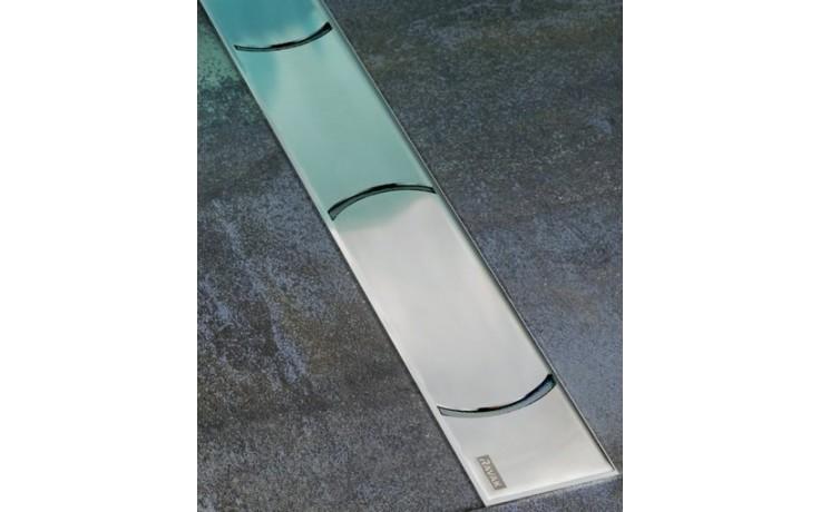 RAVAK CHROME 850 odtokový žlab 844x53x15mm nerez X01427