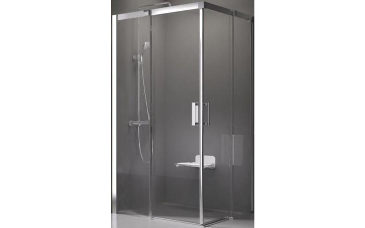 RAVAK MATRIX MSRV4-80 sprchový kout 800x800x1950mm, rohový, čtyřdílný, alubright/transparent