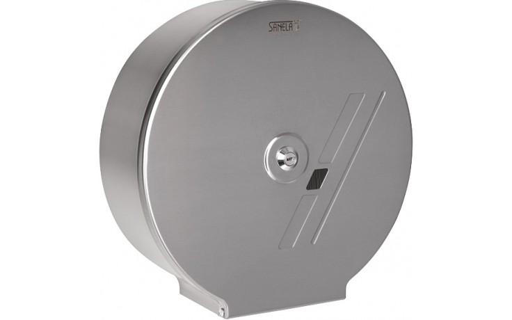 SANELA SLZN37 zásobník na toaletní papír Ø290mm, nerez mat