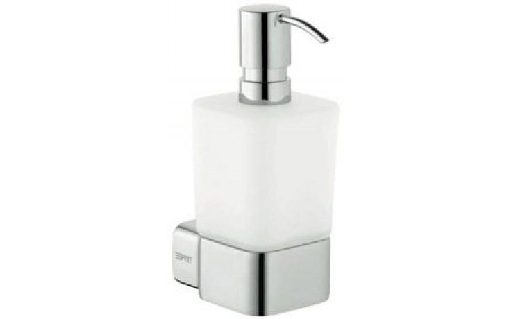 ESPRIT dávkovač tekutého mýdla 87x160mm, sklo/chrom
