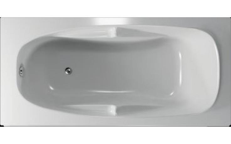 Vana plastová Teiko tvarovaná Mallorca 170x80x41cm bílá