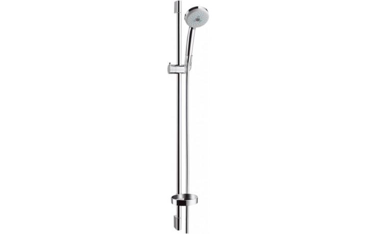 HANSGROHE sada ruční sprcha Croma 100 Multi/nástěnná tyč Unica'C chrom 27774000