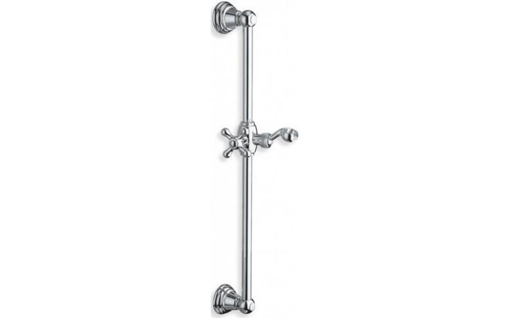 Sprcha sprchová tyč Cristina s držákem ruční sprchy  chrom