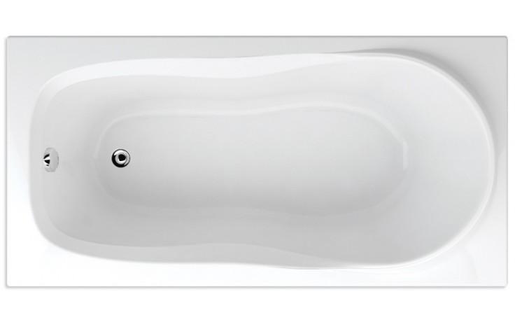 TEIKO ALEA vana 140x70x41cm, obdélník, akrylát, bílá
