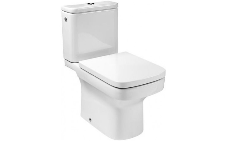 ROCA DAMA N WC mísa kombi 660x400mm hluboké splachování, svislý odpad, bílá