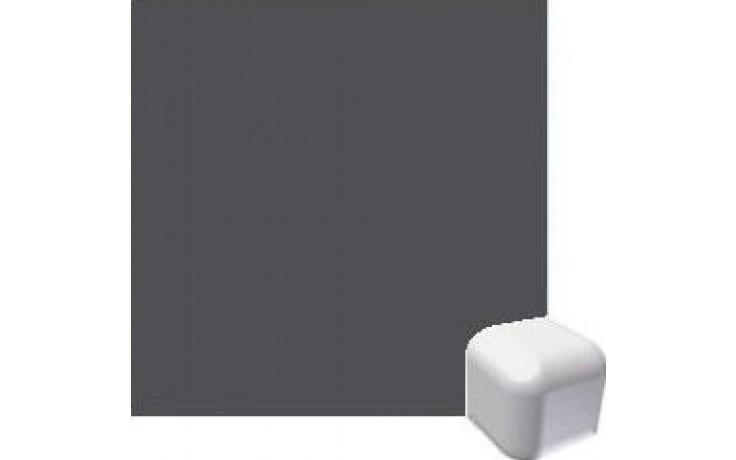 RAKO COLOR TWO vnější roh 2,4x2,4cm, antracitově šedá