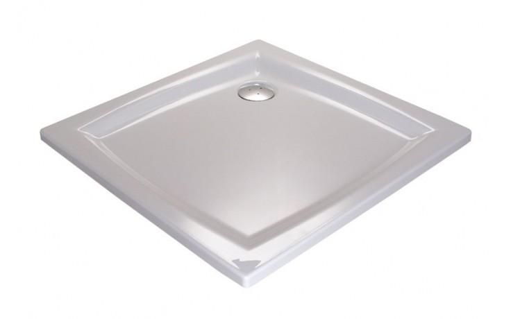 Vanička plastová Ravak čtverec PERSEUS 90 LA 90x90x3,5 bílá