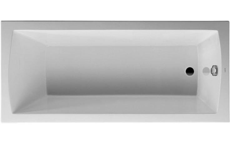 DURAVIT DARO vana obdélník 1700x750mm na zabudování, bílá 700027000000000