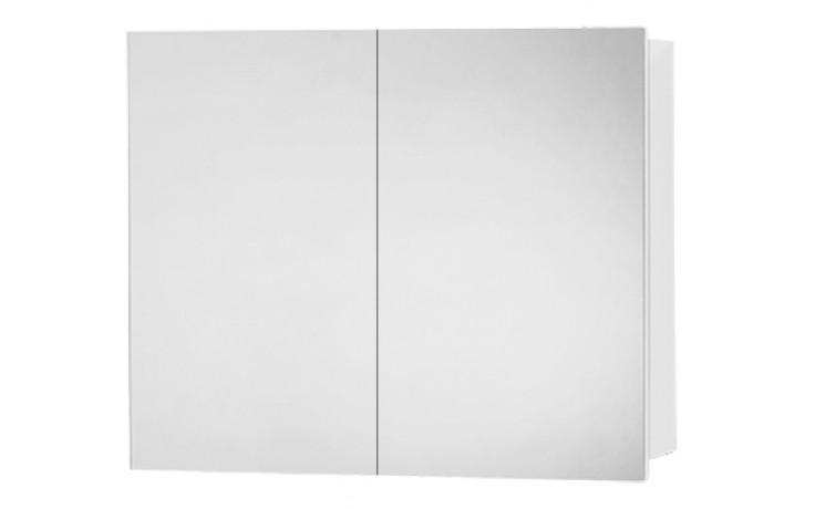 Nábytek zrcadlová skříňka Dřevojas Q GA 70  bez osvětlení 700x680x140 bílá