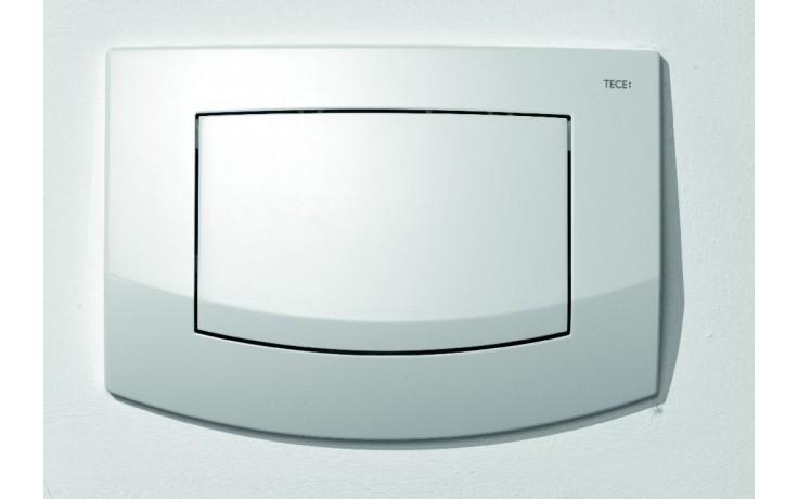 Předstěnové systémy ovládací desky TECE TECEambia jednočinné  bílá