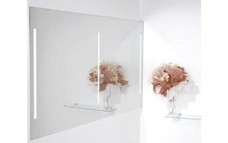 AMIRRO LUMINA DUO LED zrcadlo 140x70cm s LED osvětlením, řetízkový spínač