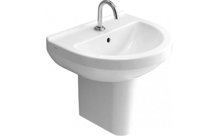 Umyvadlo klasické Vitra bez otvoru S50 55 cm bílá