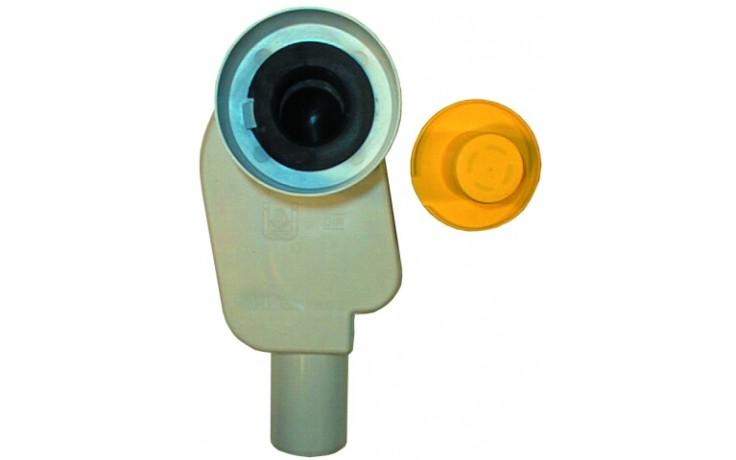 HL sifon DN50, umyvadlový, podomítkový, polypropylen