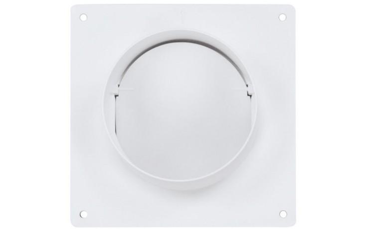HACO COP 100/104 ventilační systém prům.100mm, spojka s klapkou, zpětná klapka, bílá