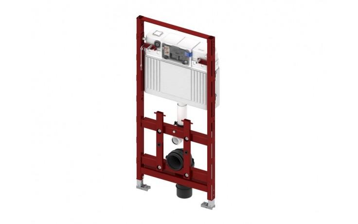 Montážní prvek do lehkých příček pro upevnění do konstrukce z profilových trubek TECEprofil nebo pro instalaci do sádrokartonových profilů, dřevěných konstrukcí a pro instalaci do rohu nebo panelového jádra. Stavební výška 1120 mm.