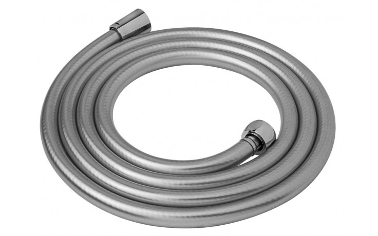 JIKA MIO zesílená sprchová hadice 2000mm, stříbrná