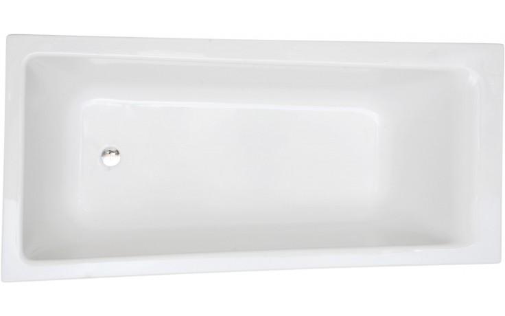 CONCEPT 100 vana asymetrická 1700x750-850mm akrylátová, se sprchovou zónou, levá, bílá