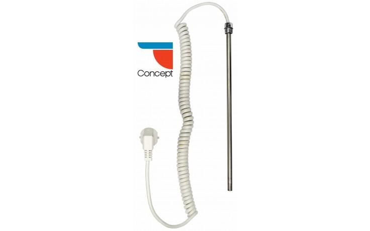 CONCEPT TT-300 topná tyč 300W elektrická, bílá