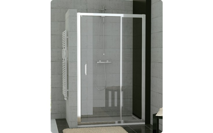 Zástěna sprchová dveře Ronal TOP-Line TED 1200 50 07 1200x1900 mm aluchrom/číre AQ