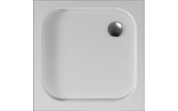 Vanička plastová Teiko čtverec - 80x80x3,5cm bílá