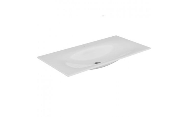 Umyvadlo nábytkové Keuco - Edition 11 31150311001 s 1 otvorem 1055x17x538 mm bílé