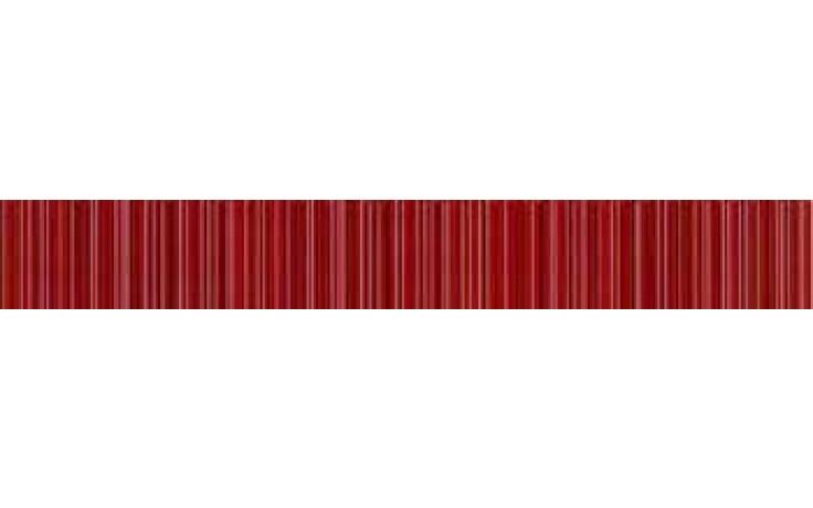 IMOLA PRISMA listela 4x30cm red, L.PRISMA 4R
