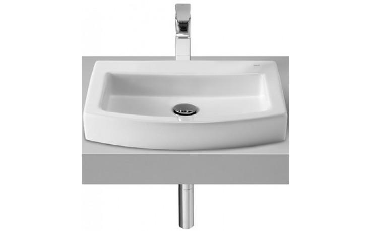 Umyvadlo nábytkové Roca - Hall Top 52 cm bílá-maxiClean