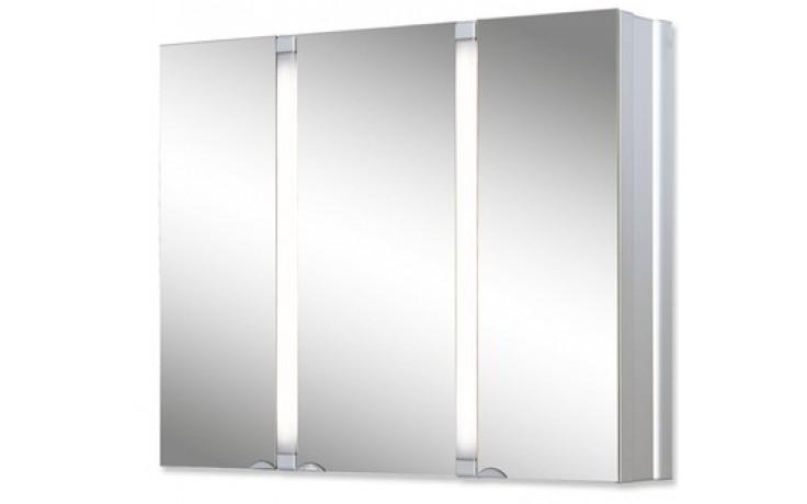 JOKEY SUNALU zrcadlová skříňka 80x17x65cm hliník