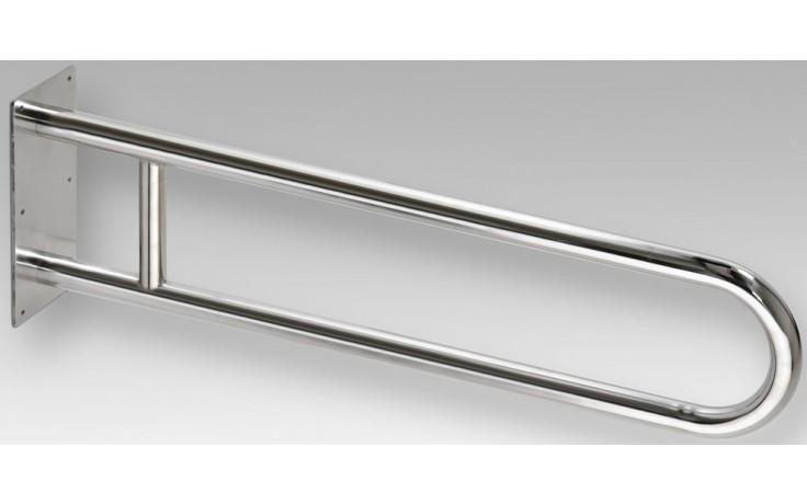 GOZ METAL REHA podpěrné madlo 900x100x250mm, tvar U, lakovaná ocel, bílá