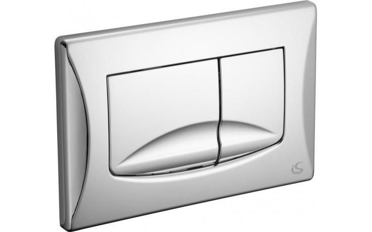 Předstěnové systémy ovládací desky Ideal Standard BETTER 2 245x165 mm chrom